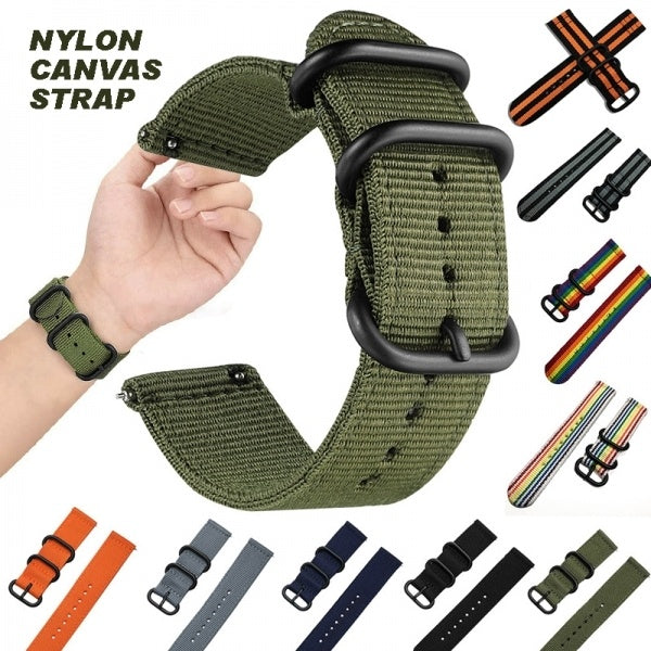 Nylon Woven Sport Watch Band Strap For Samsung Gear S3 Classic/Frontier