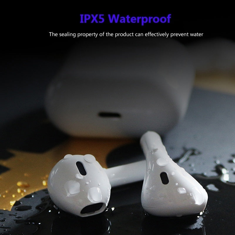 i12 TWS Wireless Bluetooth 5.0 Earphone With Charging Box Smart Touch Earbuds Super Bass Stereo Sports Headphone Headset HIFI Sound Quality Built-in Mic
