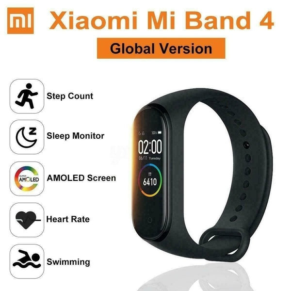 Xiaomi Mi Band 4 Newest BT 5.0 Music Smart Bracelet Heart Rate