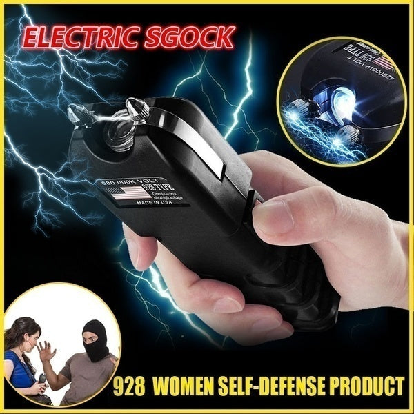 Anti Thief 928 Electric Shock Rod Self-defense Tool Remote 2500K Outdoor Flashlight Multifunctional Mini-rod Ultra-high Voltage Rechargeable