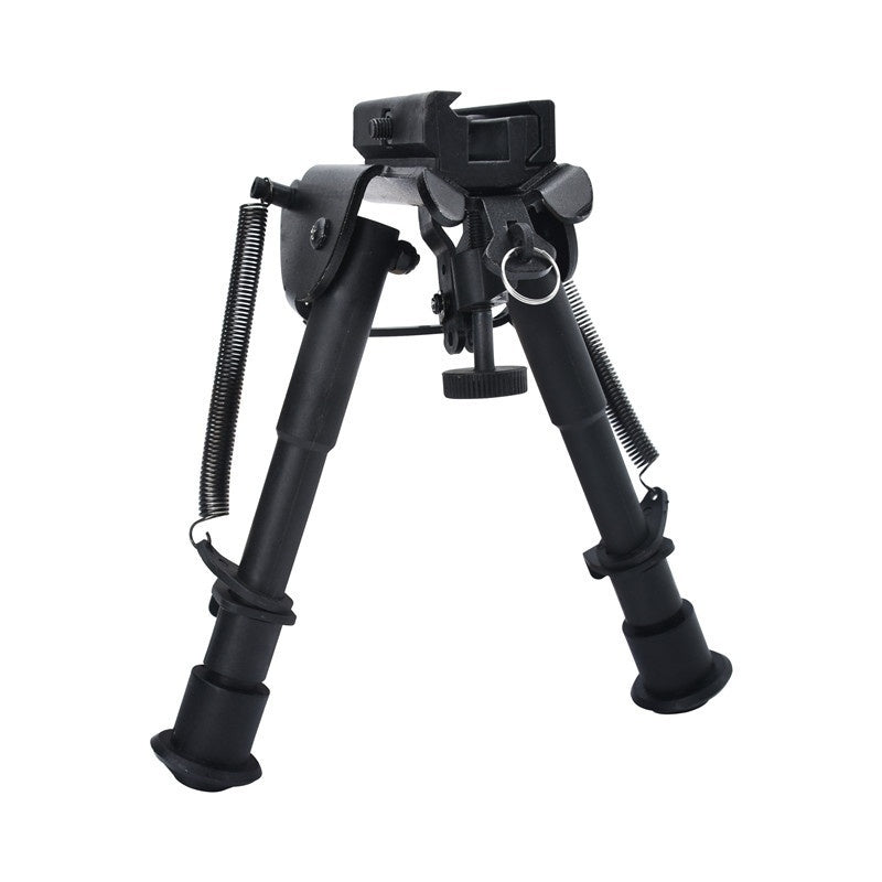 6-9 Inches Adjustable Spring Return Bipod Quick Release Hunting Bi-pod