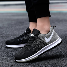 Load image into Gallery viewer, 3 Colors Men/Women Air Cushion Breathable Mesh Sports Shoes Outdoor Casual Running Shoes Fashion Sneakers