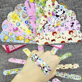 50Pcs \120PCS Children Dreathable Waterproof Wound Patch Waterproof Bandage Cartoon Cute Band-Aid Hemostatic Adhesive Medical Band-aid