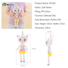 Load image into Gallery viewer, 17.72 Inch Plush Metoo Doll Stuffed Cartoon Kids Toys for Baby