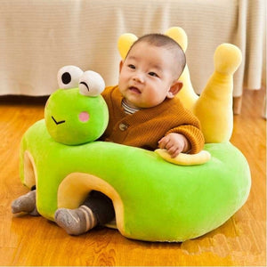 New Cartoon Baby Seat Sofa or Sofa Cover Baby Learning Chair Washable  Feeding Chair