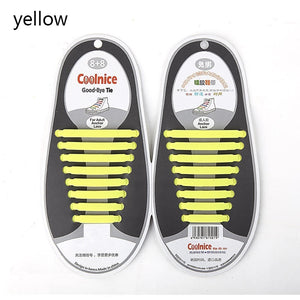 16pcs/Set Fashion Unisex 2019 Women /Men Athletic Running No Tie Shoelaces Elastic Silicone Shoe Lace All Sneakers Fit Strap  breathable running shoes