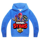 New Arrival 2019 New Fashion Brawl Stars Childrens Suits Kids Hoodies and Pants