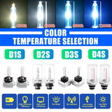 2 X 35W HID Xenon Light Car Headlight Bulb Replacement Bulbs For D1S D2S D3S D4S