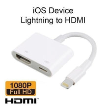 Load image into Gallery viewer, HD 1080P 8Pin to HDMI Digital TV AV Adapter Cable for iPhone X/8/7/8P/7P iPad