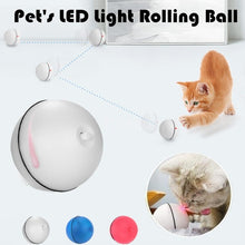Load image into Gallery viewer, Cat Toy Rolling Ball LED Red Light Motion Activated Ball Pet Interactive Toy with Batteries
