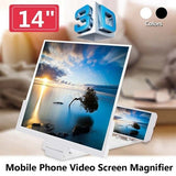 Mobile Phone Screen Magnifier 3D HD Screen Amplifier Stand Bracket