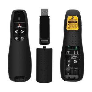 Wireless Presenter USB PowerPoint PPT Laser Clicker Pointer Pen Remote Control