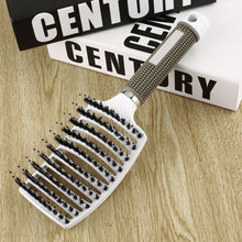 Load image into Gallery viewer, Hair Scalp Massage Comb Bristle & Nylon Hairbrush Wet Curly Hair Styling Tool
