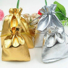 Load image into Gallery viewer, 20Pcs Luxury  Bags Drawable Jewelry Pouch Gift Packaging Bag Candy Bag For Wedding Party Favors Xmas Decorations