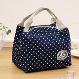 Insulated Thermal Cooler Lunch Bag Pouch Picnic Storage Box