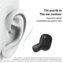 Load image into Gallery viewer, [ Bluetooth5.0, Auto Pairing ] Wireless Bluetooth Headset Waterproof Sport In Ear Headphones Mini TWS Earbuds 6D Stereo Wirelss Earphones with Charging Case PK IPhone Airpods Flypods Freebuds