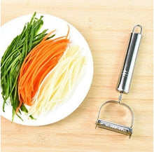 Load image into Gallery viewer, Stainless Steel Peeler Potato Vegetables Fruit Peeler Kitchen Gadget Tool
