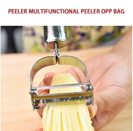 Stainless Steel Peeler Potato Vegetables Fruit Peeler Kitchen Gadget Tool