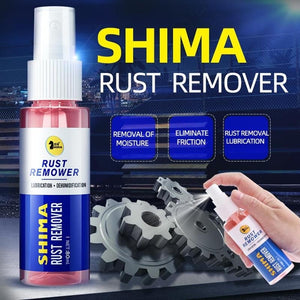 80ml Rust Remover Window Rust-proof Lubrication Inhibitor Wheel Hub Screw Derust Spray for Metal Parts Car Maintenance Clean