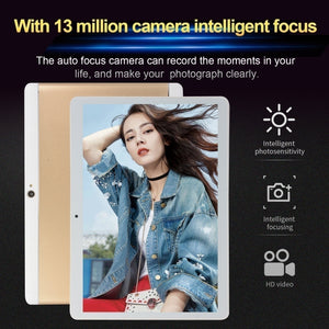 Tablet 10.1 Inch with 8GB +512GB Large Memory 1920*1200 IPS Screen Cheap Tablets Android  with 4G Network Octa Core MT6797 Dual SIM Card Ipad Pro Phone 4G Call Wifi Android Tablets