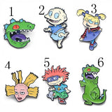 O10 1 Pcs Cartoon Enamel Pin Lapel Badges Brooch Funny Fashion Jewelry