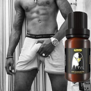 Men Fashion Growth Maca Oil for Thickening