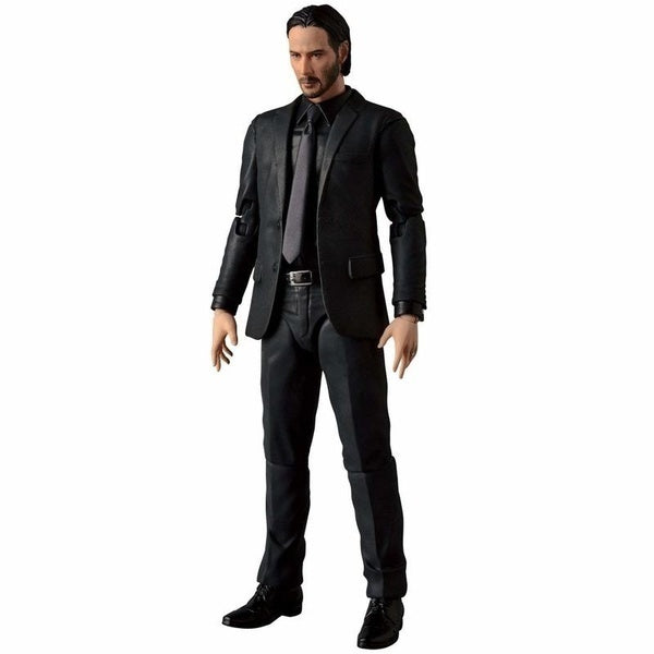 6' John Wick Retired Killer Keanu Reeves Figure Model Toys MAC070  for Gift Collections