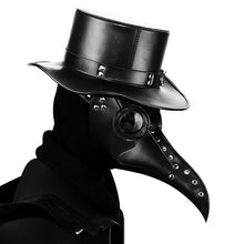 Load image into Gallery viewer, Vintage Steampunk Plague Doctor Masks PU Leather Birds Beak Masks Gothic Masquerade Ball Masks Halloween Cosplay Props