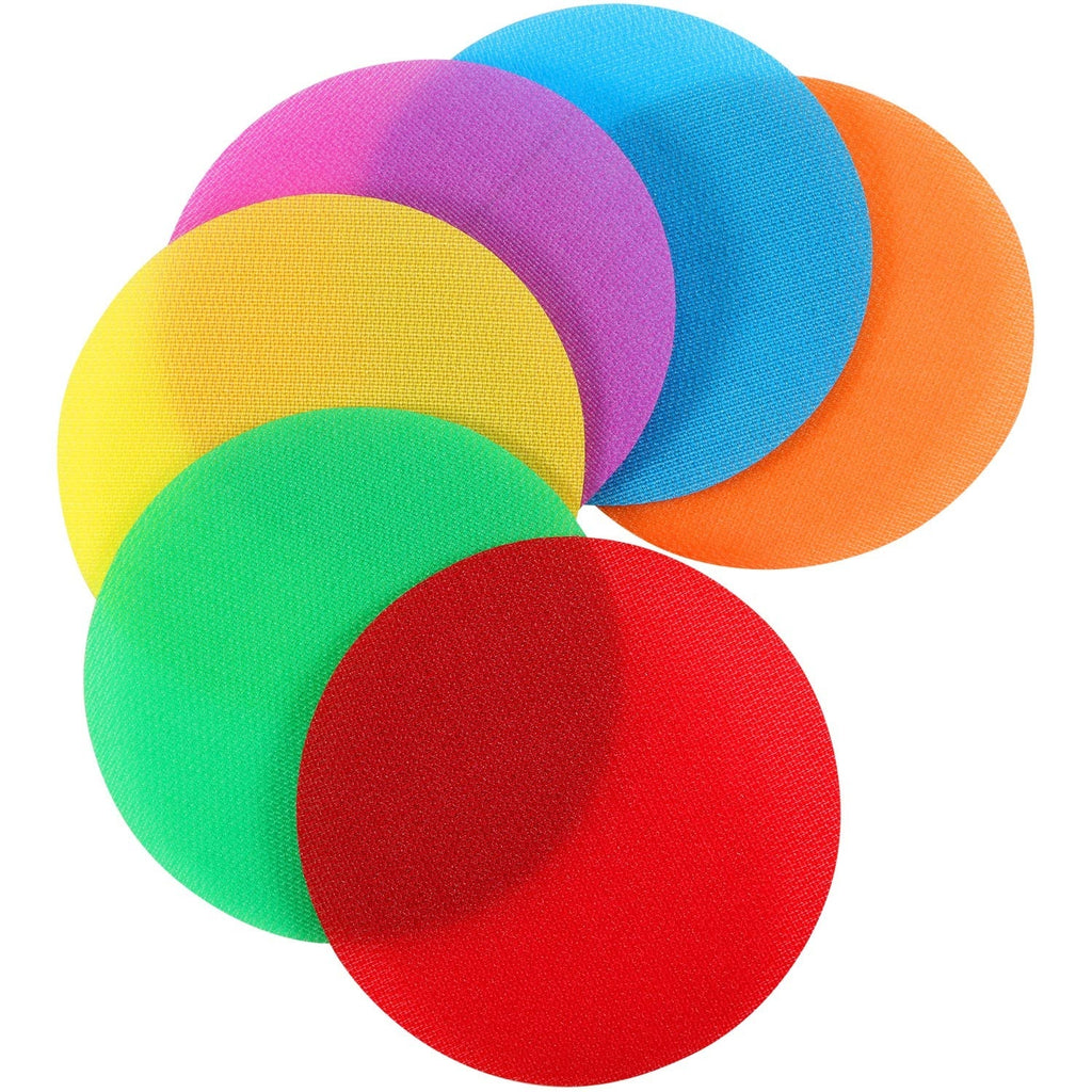Sit Carpet Markers Sitting Spots Educate for Teachers Classroom Preshool Kids Games(Random Color)