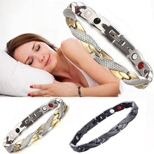 Load image into Gallery viewer, 2019 Unique Ladies Bracelet Simple Twisted Magnetic Bracelet Female Stainless Steel Bracelet Healthy Magnetic Bracelet for Women Power Therapy Magnets Bracelets