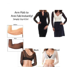 Load image into Gallery viewer, 2020 Plus Size NEW Seamless Arm Shaper Short Cropped Navel Mesh Cardigan Arm Shaper S-2XL