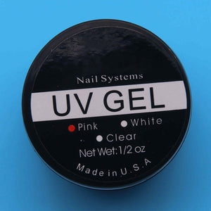 Nail Extension Gel Nail Art Builder UV Gel Tips Glue Manicure Too