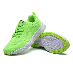 Women's Fashion Breathable Running Shoes Outdoor Comfortable Sports Shoes Casual Sneakers
