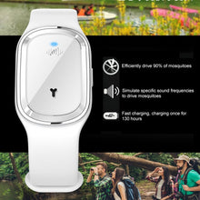 Load image into Gallery viewer, Smart USB Rechargeable Mosquito Repellent Bracelets Non-Toxic Travel Ultrasonic Mosquito Repellent Wristband For Indoor&Outdoor, Kids&Adults