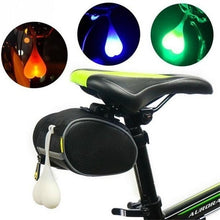 Load image into Gallery viewer, Creative Bicycle Night Riding Silicone Taillights Funny Egg Lamp Hanging Ornament Outdoor Safety LED Warning Lights