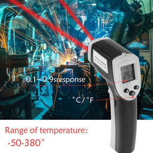 Non-Contact Digital LCD Infrared Thermometer GM320 Laser Infrared Digital Temperature Meter Sensor Handheld Pyrometer -50¡ãC to 380¡ãC