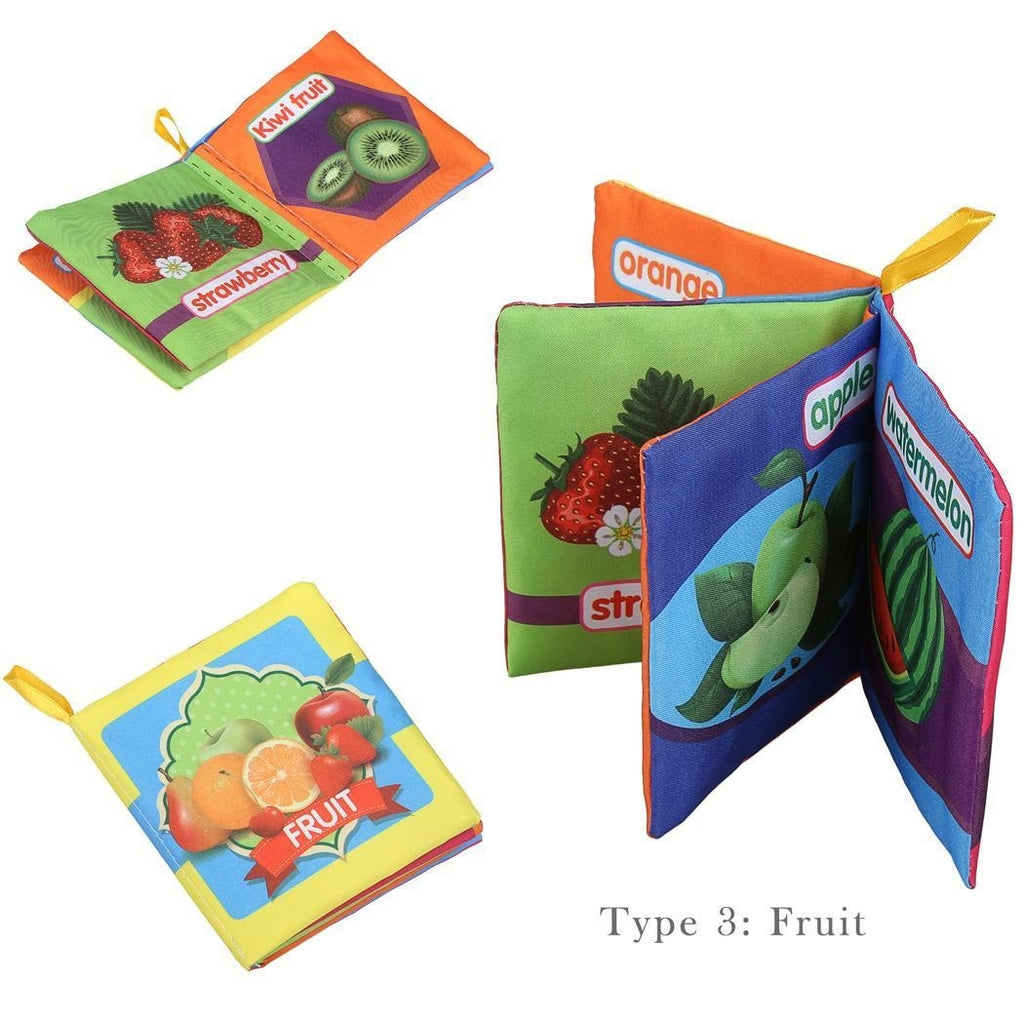 Baby Early Learning Intelligence Development Cloth Cognize Fabric Book Educational Toys