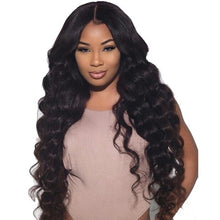 Load image into Gallery viewer, 28 INCH Brazilian Wigs Loose Deep Wave Wigs For Women American Wigs One More Remy Wigs