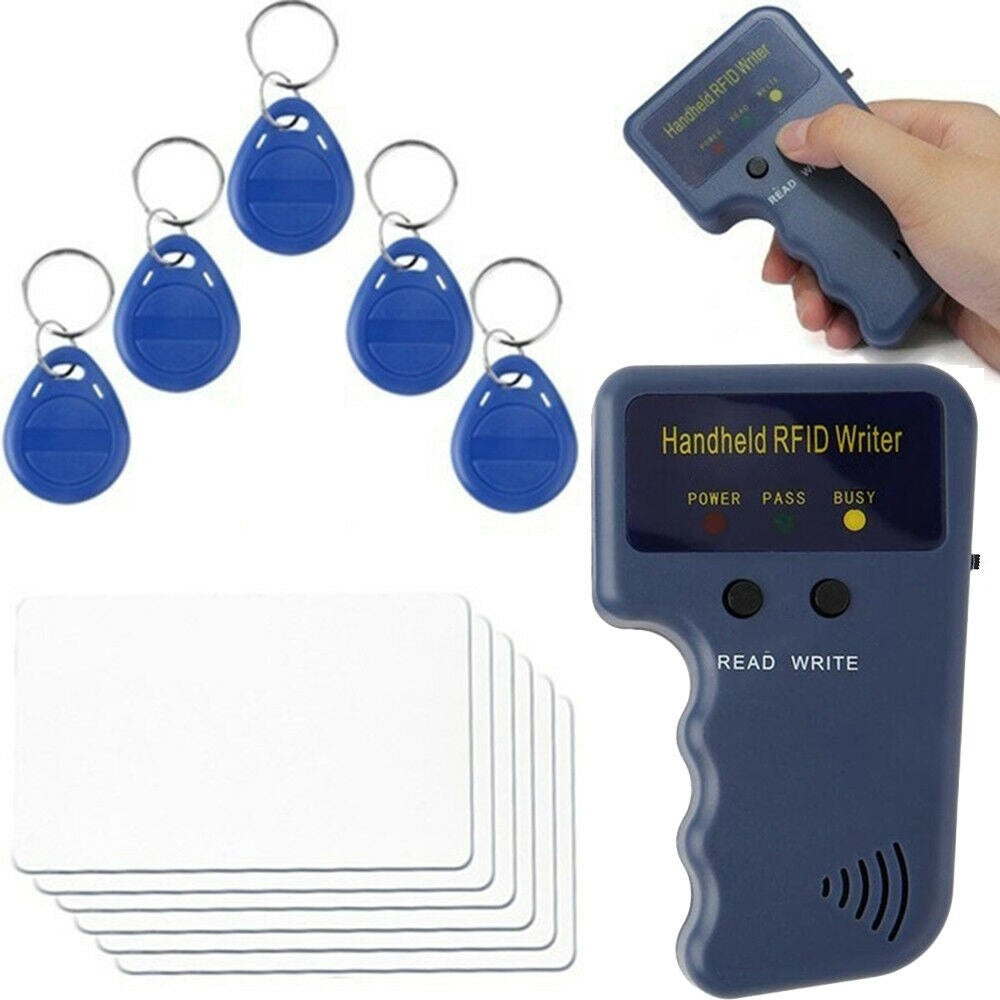 New 125KHz RFID Duplicator Copier Writer Programmer Reader Writer ID Card Cloner & Key