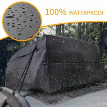 Load image into Gallery viewer, Waterproof Car Roof Bag Rack Top Cargo Carrier Travel Storage Luggage for SUV Van