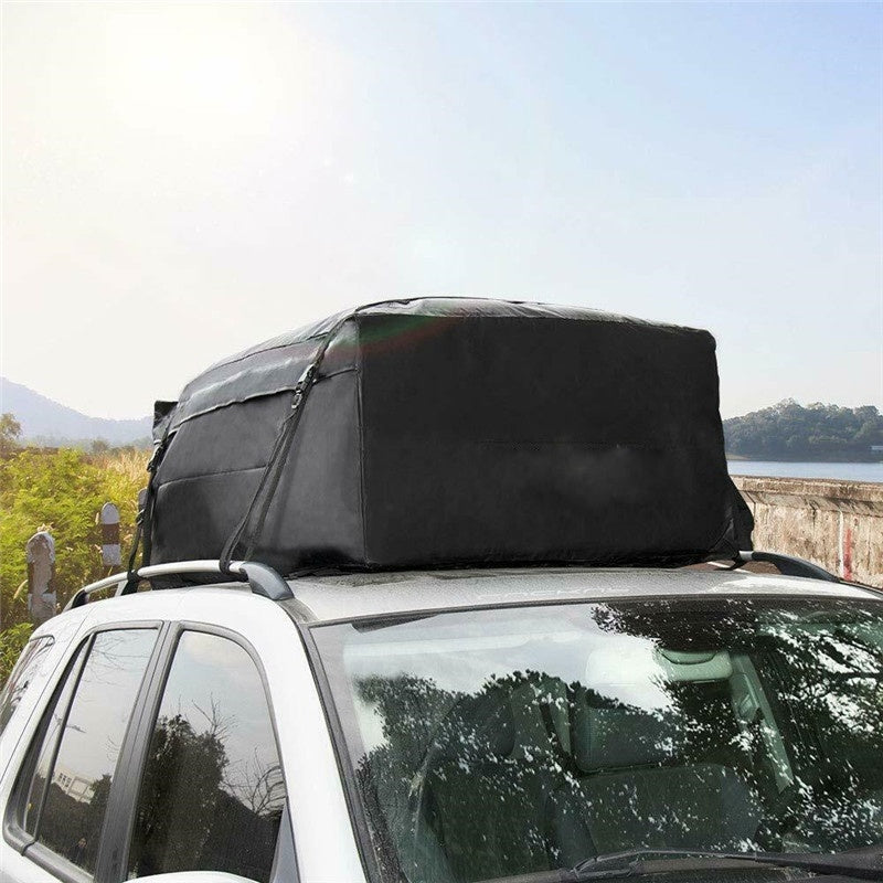 Waterproof Car Roof Bag Rack Top Cargo Carrier Travel Storage Luggage for SUV Van