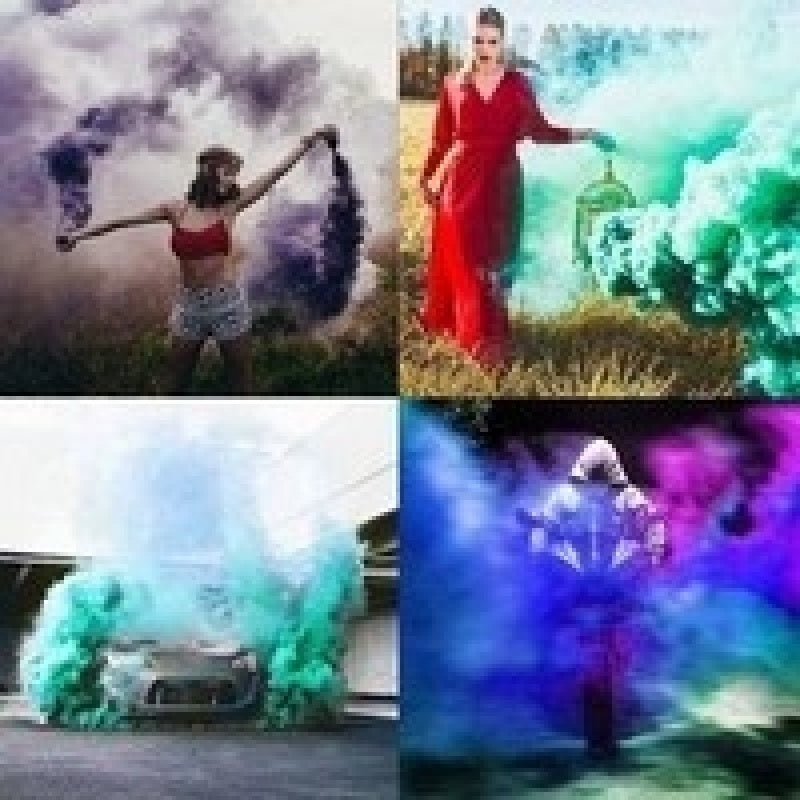 10/20pcs Smog Special Props for Photographing Smoke Pieces