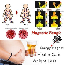 Load image into Gallery viewer, 1 Pcs Fashion Men and Women Bracelet Magnetic Health Bracelet for Loss Weight