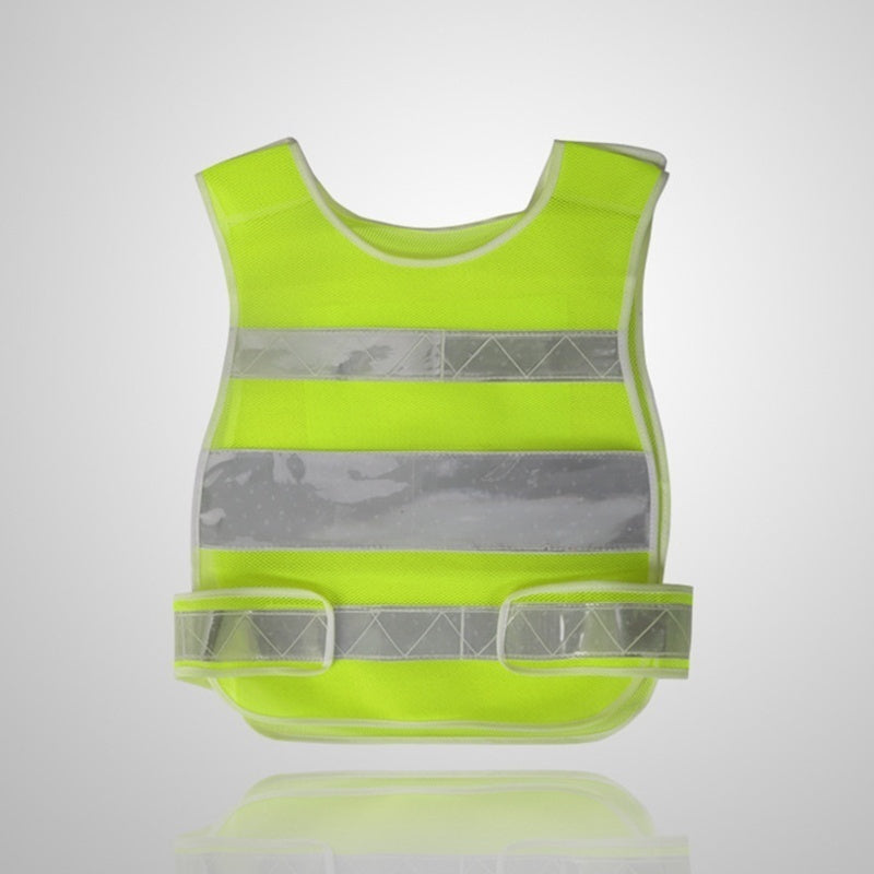 Hi-Vis Reflective Safety Vest Visibility Security Work Jacket Tops Coat Construction Engineering Protective Clothing