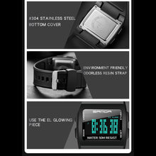 Load image into Gallery viewer, SANDA LED Digital WristWatches Man Quartz Sport Watches Black Smart Clocks Fashion Cool Men Electronic Watch