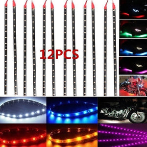 Waterproof  DC 12V Motor LED Strip Underbody Light For Car Motorcycle