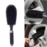 1pcs Car Wheel Tire Rim Scrub Brush Washing Cleaner Vehicle Cleaning Tools-new