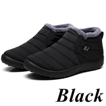 Load image into Gallery viewer, Hot Women Winter Thicken Warm Boots Wool Cotton Shoes Ankle Boots Waterproof Bottes