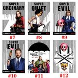 The Umbrella Academy Season 1 TV Series Posters Room Movie Wall Paper Decor Printing Wallpaper Home Decoration 11.6in*16.5in
