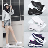 Womens Running Shoes Casual Sneakers Sports Breathable Shoes for Women Soft Non-slip Shock Absorption Fitness-Training